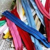 "Free Shipping! 20cm 7.9"" Plastic Zippers for DIY Bags 12 Color to Choose 100pcs Wholesale(China (Mainland))"
