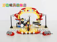 Wange DR.Luck city girl series Building Block Sets 210pcs Educational Jigsaw DIY Enlighten Bricks toys for children No.46211N