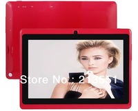 Original HD 3TH Very thin Capacitive Screen Wi-Fi 3G 4G-32GB android 4.0  Camera WIFI allwinner  tablet pc MP3 MP4 pink Red