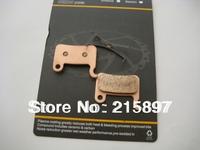 Two pairs Bike Disc Brake Full Metallic Pads Block- Spring Included - For SHIMANO XT M595 M596 M775 Hydraulic Brake System