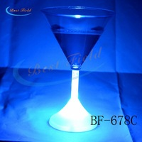Free shipping 100pcs/lot 175ML/6OZ color changing flash mug led light cup  drink cup flashing barware for christmas