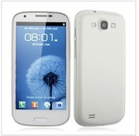 FeiTeng N9300+ White Android Phone 4.7 inch Screen MTK6577 Dual core 3G WCDMA Dual Camera 8MP WiFi GPS