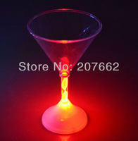 Free shipping 12pcs/lot 175ML/6OZ light up cup flashing cup flashing barware for christmas