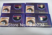 M-021 5 boxes 0.10,0.12,0.15 C CURL 6mm, 8mm,10mm,12mm can choose 20 stripes false eyelashes eyelash extension Free Shipping