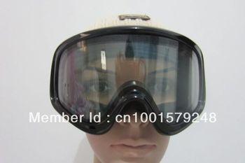 LDSG004 Unisex snowboard ski goggles Double Anti Strach lens AntiFog UV400 Protection CE Certification with anti-skidding strap