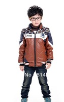 Free   shipping  Boy's winter clothing LiLing cotton jacket zipper unlined upper garment