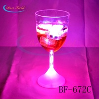 Free shipping 48pcs/lot 235ML/8OZ color changing led light up cup flashing beer mug flashing shot glasses for christmas