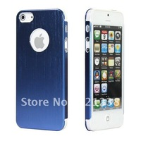 10pcs/LOT for New Arrival Fashinable iphone 5 5S silm Aluminum metal case cover skin free shipping