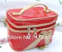 Free shipping Wholesale Fashion Cosmetic Bag, Toiletry Bag,  Touring bag