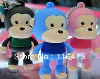 u disk 8g authentic special 8g u disk mini cartoon monkeys cute new personalized USB flash drives