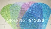 FREE SHIPPING ! 67*35CM.PVC Skidproof bath mat & shower bath Carpet for toilet/bathroom, bathroom accessories