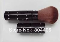 100% promotions!  Girl's makeup brush, travel retractable powder brush , black powder brush