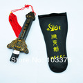 Chinese Kung Fu Martial Arts Tai Chi Retractable Magic Performance Sword Free Shipping