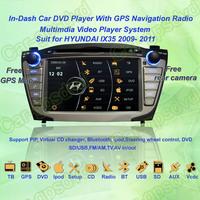 Free Shipping! 2009- 2011 Hyundai IX35 GPS Navigation DVD Player ,TV,Multimedia Video Player system+Free GPS map+Free camera
