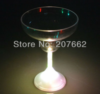 Free shipping 48pcs/lot 235ML/8OZ color changing flashing shot glasses flashing beer mug led cup for christmas