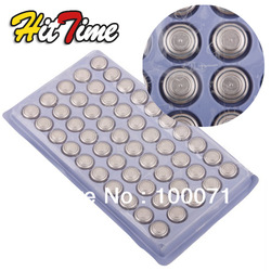 1Set AG13 LR44 SR44 L1154 357 A76 Button Cell Battery 50Pcs [1972|01|01](China (Mainland))