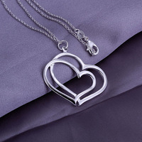 Wholesale Free Shipping.Fashion Jewelry.Silver Necklace.925 Sterling Silver Chains Necklace. N108