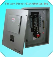 Top selling!!! Free shipping!!! Three phase six way distribution box MEM brand
