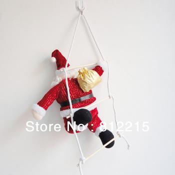 Christmas ladder Santa Claus of Christmas decoration window dressing arrangement pendant 240g