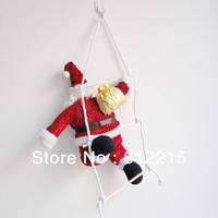 Christmas ladder Santa Claus of Christmas decoration window dressing arrangement pendant 240g