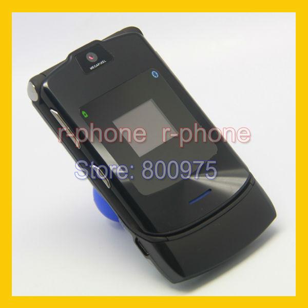 Unlocked Original motorola Razr V3i Mobile Cell Phone Refurbished(China (Mainland))