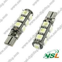 T10 13SMD 5050 LED car bulb Free shipping