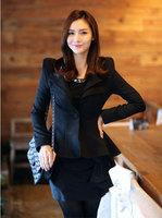 Best Selling!!New Women blazer women autumn Jackets Slim small suit+free shipping