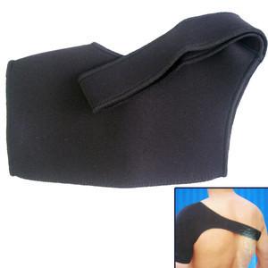 New Neoprene Sport Single Shoulder Sheath Support Wrap Brace Black 8197