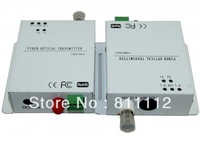 1ch fiber optic Video Transmitter and Receiver
