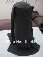 S011a new design muslim niqab, high quality big size face mask,$15 off per $150 order