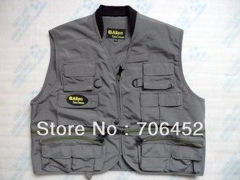 ALLEN  fly fishing vest, fishing jackets ,fishing vest+fast shipment