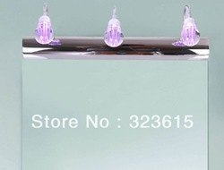 Modern Minimalist Acrylic LED Wall Lamp Mirror Front Lamp Lights Bathroom Bedroom Living Room(China (Mainland))