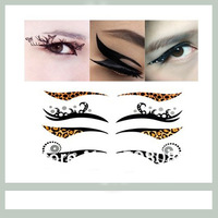 50pcs/lot eyeliner sticker temporary double eyelid sticker+free shipping