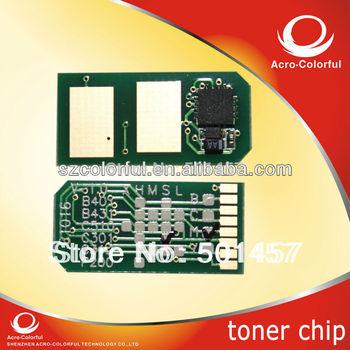 Refilled for OKI C301/321dn laser printer cartridge spare parts compatiblem color toner reset Chip for OKI c301