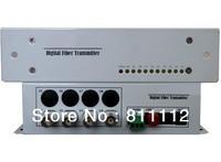 4ch fiber optic Video Transmitter and Receiver module
