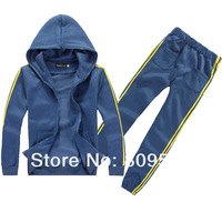 Hot sale men winter coat men hooded sweatshirt dust coat hoodies set S M L XL free shipping ATZ001