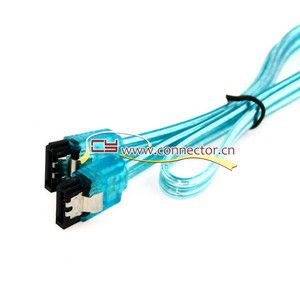 Super Speed SATA 3.0 III SATA3 6GB/s Hard Disk Drive Cable Blue Durable 50cm