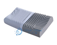 Natural latex bamboo charcoal massage pillow