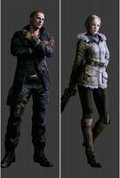 Resident evil 6 Sherry birkin Jake muller Dakimakura / Hugging Pillow Case #1003 (full color)