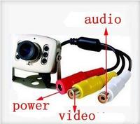 Color monitor camera / security surveillance camera / with audio KM-208C