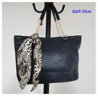 2012 Hot Sale popular women bags,Size:44 x 26cm,PU + Accessories,2 different colors,strap,promation for christmas! Free shipping