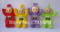 "BRAND NEW 12"" Teletubby Plush Toy Doll Teletubbies 4pcs"