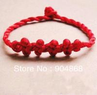 Chinese Knot Bracelet/Counteract Evil Force Bracelet/ Knitted Red String Bracelet
