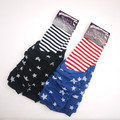 Star Stripe frilly/ruffle baby leg warmers breathable sweat-absorbent  xmas gifts