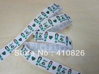 WM ribbon wholesale/OEM 7/8 inch22 mm girl scouts  grosgrain ribbon 50yds/roll free shipping