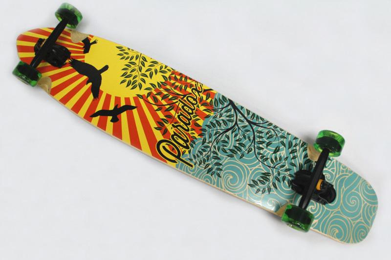 "Frete Grátis Moda 42 ""Sector Longboard 9 duplas Longboards Wrapped Longboards completos(China (Mainland))"