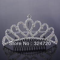2013 bridal accessories hot-selling wedding quinceanera formal dress tiara/crown hg826 free shipping