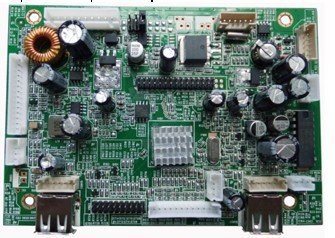HDMI+VGA+AV+AV Audio signal input Media player board