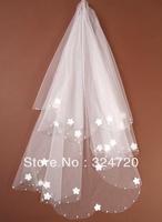 2012 Bridal veil wedding veil 622 free shipping