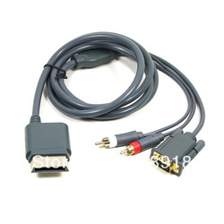 New High Definition HDTV AV HD VGA Cable for Xbox 360(China (Mainland))